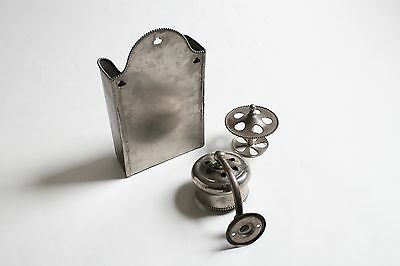 antique bathroom toilet cup tumbler toothbrush holder | brasscrafters vtg deco 3