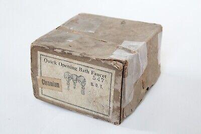 antique faucet tub filler sink   vtg mixing faucet victorian bathroom deco NOS 9