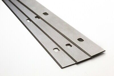 410mm Replacement for HAMMER planer knives 3 PER PACK INC VAT - Special Holes 2