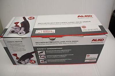 Antischlingerkupplung ALKO AKS 3004 - Safety Dreierpack mit Diebstahlsicherung