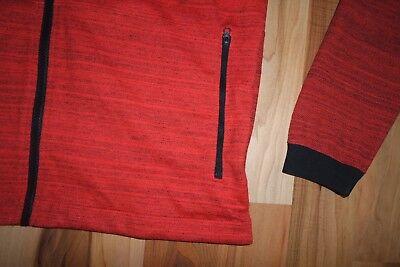 NEW Nike NSW Advance 15 Men/'s Knit Bomber Jacket AV15 Orange Black 837008 852