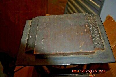 ANTIQUE CUCKOO clock WALL CLOCK WOODEN PLATES CLOCK BEHA??? for parts 10