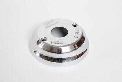 antique shower dial face plate control | kohler vtg victorian deco escutcheon 3