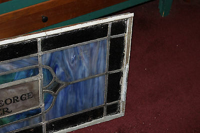 Antique Stained Glass Leaded Church Window-Religious-Eugene Bellinger-LARGE 4