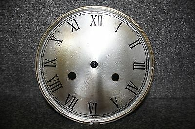 "Vintage 6"" clock face/dial Roman numeral number restore/renovation wet transfer 4"