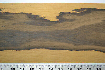 Ziricote Raw Wood Veneer Sheets 7 x 46 inches 1//42nd                  G7633-39