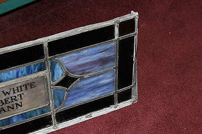 Antique Religious Church Stained Glass Window-Henry White-Architectural Window 4