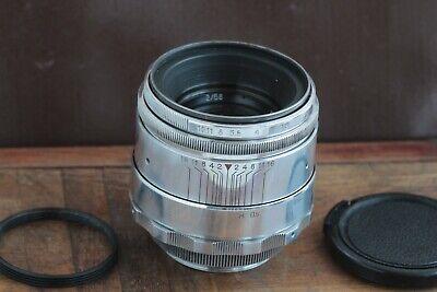 🎥 Excellent Helios 44 2/58 M39 M42 Silver Bokeh portrait Lens Perfekt seller 5