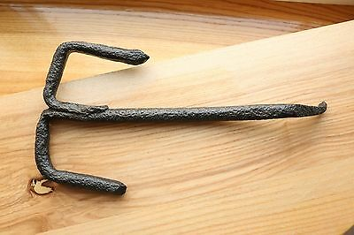 Gorgeous RARE Large Viking Kievan Rus Key for Wooden Padlock 10-12 AD 4