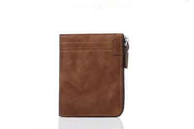 AU Designer Mens Leather Wallet RFID Contactless Card Blocking ID Protection 3