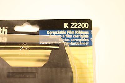 "SMITH CORANDA K22200 CORRECT FILM RIBBO BLACK 2 (1/4""X492.13') 7mm X 150m 2"