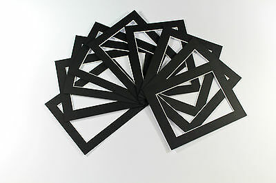 Pack of 100- Bespoke Mounts / Picture Mounts / Frame Mounts + Backs + Clear Bags 6