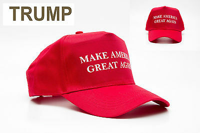 a11cbb0ee9e 2 of 4 NEW Make America Great Again Hat Donald Trump 2016 Republican  Adjustable Red Cap