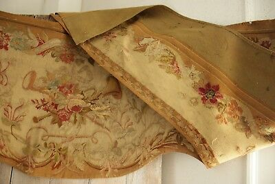 19th century Aubusson tapestry portiere tapestry textile French woven