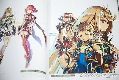 3 - 7 Days | Xenoblade 2 Official Artworks Alest Record Art Book from JP 3