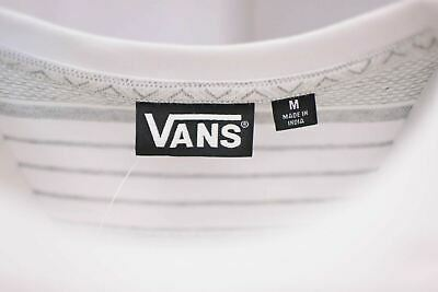 Vans Off The Wall Men's White Striped Climbed-J S/S Tee S02 (Retail $34) 6