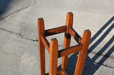 Gustav Stickley No. 54 Mission Oak Arts & Crafts Umbrella Stand 5
