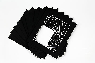 Photo/Picture Mounts / Frame Mounts / Various Size / Colours PACK OF 10 - A4 A3 4
