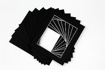 Picture Frame Mounts  Photo Frames Mounts  Bevel Cut - Pack of 4 4