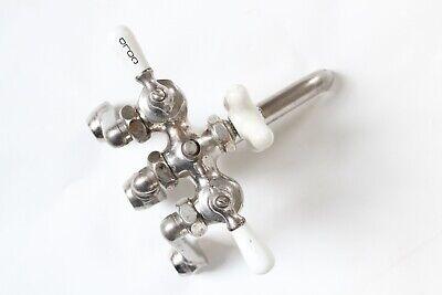 antique faucet kitchen sink | chicago vtg mixing faucet shower victorian deco 12