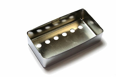 Humbucker Pickup cover Chrome plated nickel silver 52mm pole spacing