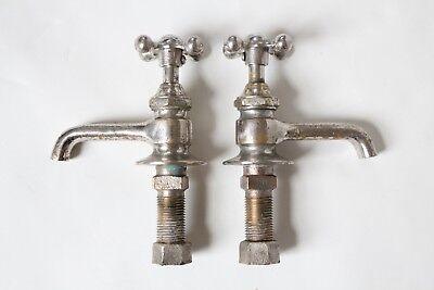 antique faucet bathroom sink   vtg victorian porcelain bathroom plumbing deco 4
