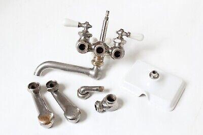 antique faucet kitchen sink | chicago vtg mixing faucet shower victorian deco 6