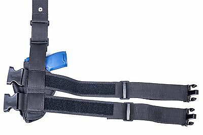 FN FNX-9, FNX-40, FNX-45 | Drop Leg Thigh Holster with Mag Pouch  MADE IN  USA