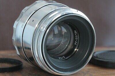 🎥 Excellent Helios 44 2/58 M39 M42 Silver Bokeh portrait Lens Perfekt seller 7