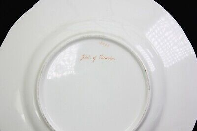Antique Fine English Porcelain Plate Foot of Snowdon Pat 2399 Circa 1850 6