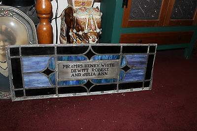 Antique Religious Church Stained Glass Window-Henry White-Architectural Window 11