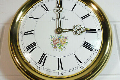Old Comtoise Wall Clock Dutch Movement Vintage Old Clock 8