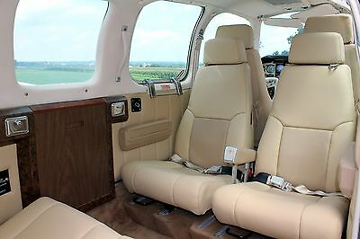 BEECHCRAFT BONANZA OR Debonair (4-seat) custom leather interior