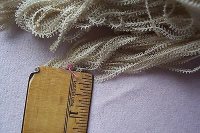 Fabric Antique Vtg Early Late 1800's early 1900's Cotton Rick Rack  2 yards