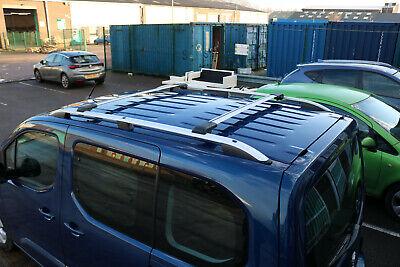 Fiat Doblo Maxi Cargo 2010 Dachträger . Aluminium Dachreling