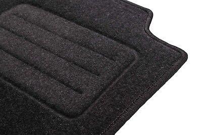1998-2012 Graphit Anthrazit Textil Fußmatten Peugeot 206 Bj