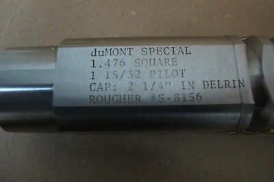 "duMONT 1.476 SQUARE BROACH   ""SPECIAL"""