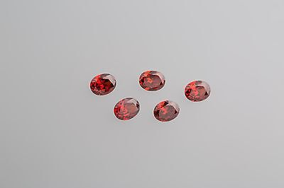 20 Stück Synthesen Rubin 12 x 10 mm facettiert Oval AAA // Qualität AAA+Synthese