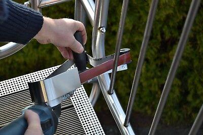 Rohrbandschleifer Winkelschleiferaufsatz Winkelschleifer Anbausatz Bandschleifer