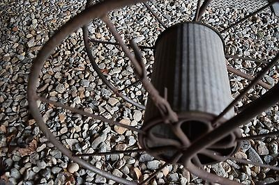Rare~Antique Rope? Hose? Wire? Metal And Cast Iron Wheel~Patented Apr.19,1904