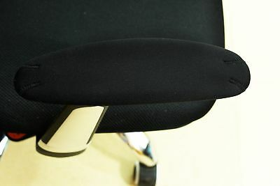 Sm BlueCosto Soft Neoprene Office Chair Arm Covers Armrest Cushions Pads Black