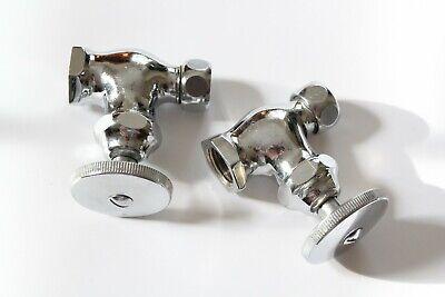 antique faucet shut off angle valve | wheel vtg victorian plumbing deco bathroom 3