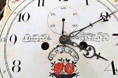 Georgian 8 day Grandfather Clock 12