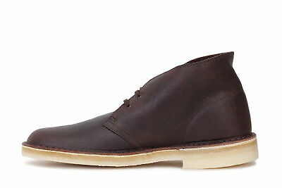 CLARKS ORIGINALS DESERT BOOT BROWN TUMBLED LEATHER MENS SIZE CASUAL SHOES 04990