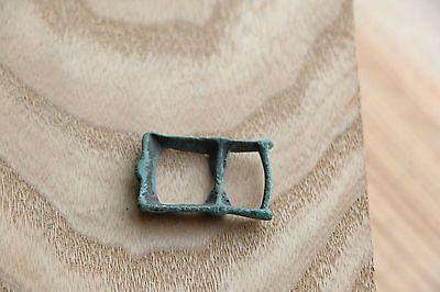 Kievan Rus Viking Bronze Buckle, Strap End, Part of Belt 9-10 AD 5