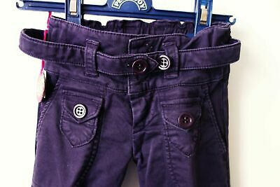 PANTALON évasé Nolita Pocket 2ans Violet NEUF étiqueté 12