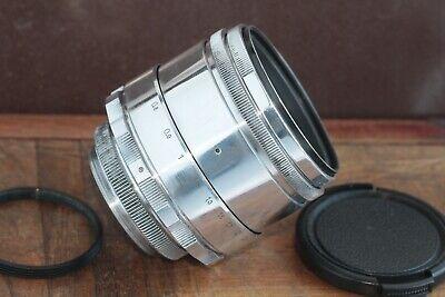 🎥 Excellent Helios 44 2/58 M39 M42 Silver Bokeh portrait Lens Perfekt seller 2