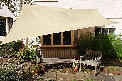 5 Of 9 Kookaburra Shade Sail Water Resistant Sun Canopy Patio Awning Garden  96%UV Block