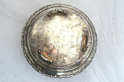 Vintage Arabian Military Silver Plated Box Code of Arms Soldier Army Islamic 11