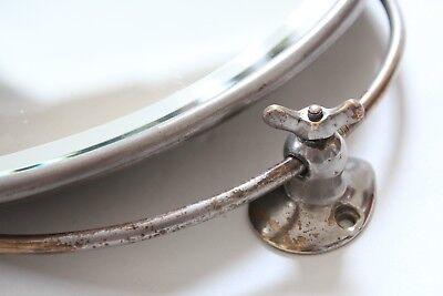 antique bathroom mirror shaving | san o la art brass vtg victorian deco mirror 3